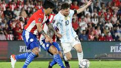 Парагвай — Аргентина — 0:0. Видеообзор матча