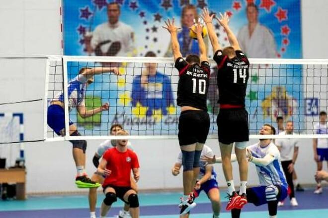 Волейболисты Днепра потерпели первое поражение в мужской Суперлиге