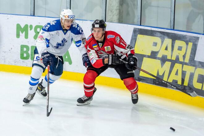 Сокол и Донбасс выдали невероятный матч в УХЛ. Соперники забросили 13 шайб