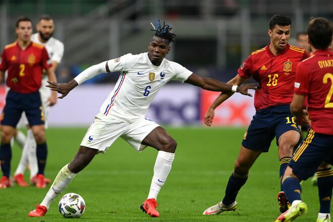 Испания - Франция - 1:2. Текстовая трансляция матча