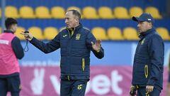 Петраков определил состав сборной Украины на матч против Финляндии
