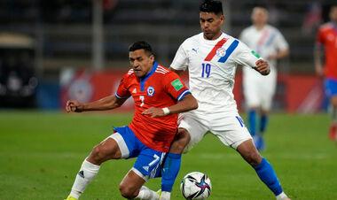 Сборная Чили обыграла Парагвай в квалификации ЧМ-2022