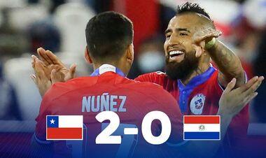 Чили – Парагвай –2:0. Видео голов и обзор матча