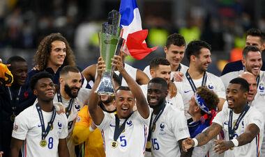 Франция стала первой сборной, которая выиграла Лигу наций, ЧМ и Евро