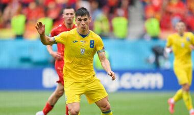 Малиновский – в топ-10 самых успешных дриблеров европейского отбора ЧМ-2022