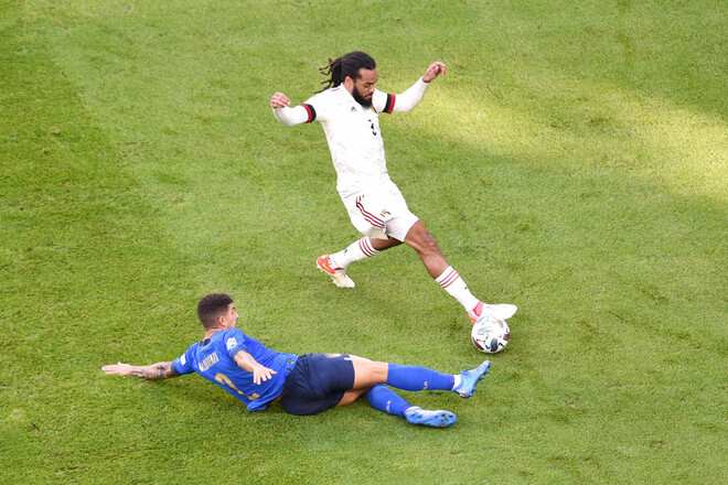 Де Брюйне вышел слишком поздно. Италия удержала победу над Бельгией