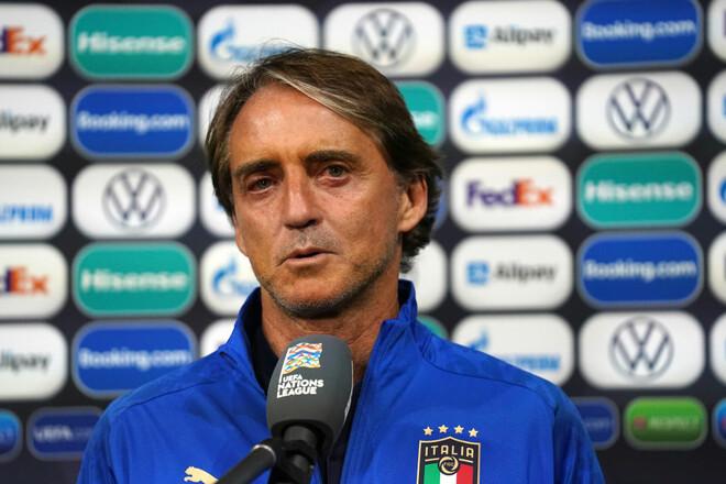 Роберто МАНЧИНИ: «Было много удачных решений в средней линии»