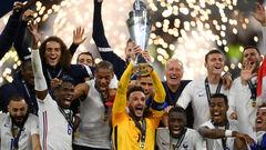 Франция победила Испанию в финале Лиги наций