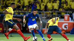 Бразилия и Колумбия сыграли вничью в квалификации ЧМ-2022