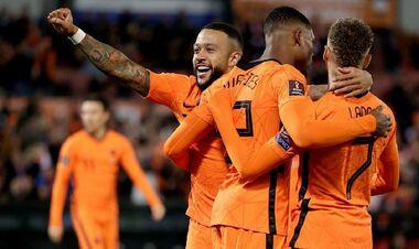 Нідерланди – Гібралтар – 6:0. Відео голів та огляд матчу