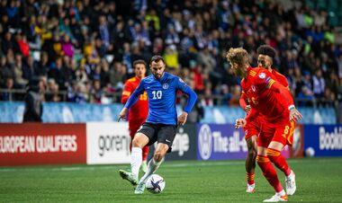 Эстония – Уэльс – 0:1. Видео гола и обзор матча
