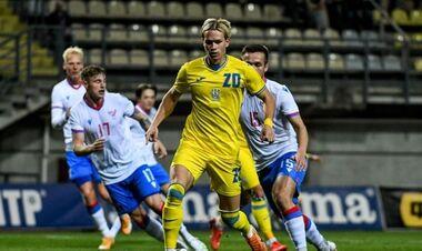 Отбор Евро-2023 U-21. Украина после четырех туров занимает 2-е место