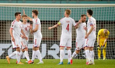 Дания досрочно пробилась на мундиаль в Катар, выиграв все 8 матчей группы