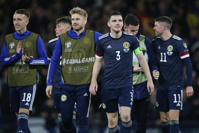 Фареры – Шотландия – 0:1. Видео гола Дайкса и обзор матча