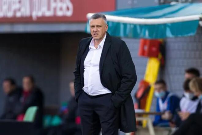 Тренер Литвы: «В 0:4 от Швейцарии вижу больше плюсов, чем минусов»