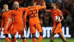 Группа G. Нидерланды унизили Гибралтар, Турция вырвала победу над Латвией