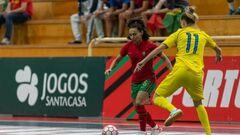 Опять фиаско. Женская сборная Украины во второй раз проиграла Португалии