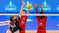 В мужской волейбольной ЛЧ завершился первый квалификационный раунд