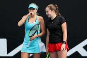Людмила Киченок стартовала с победы в парном разряде Australian Open