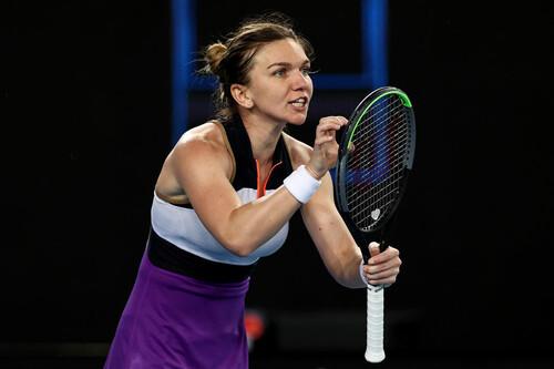 Australian Open. Томлянович проиграла Халеп, ведя 5:2 в третьем сете