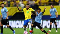 Бразилия разгромила Уругвай, Венесуэла крупно проиграла Чили