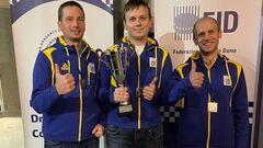 Украинец Юрий Аникеев выиграл чемпионат Европы по шашкам-100 в блиц-игре