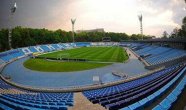 Матч Динамо – Днепр-1 перенесен на стадион имени Лобановского