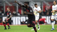 Милан — Верона — 3:2. Видео голов и обзор матча