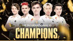 Два украинских игрока стали чемпионами The International 10