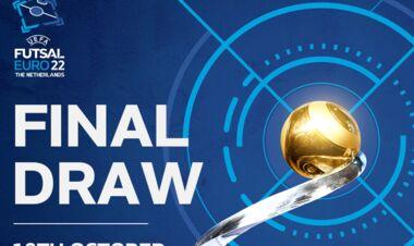 Жеребьевка Евро-2022 по футзалу. Смотреть онлайн. LIVE трансляция