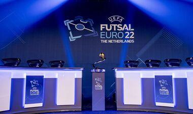 Украина узнала соперников. Результаты жеребьевки Евро-2022 по футзалу