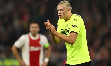 Холанда не было видно. Аякс отгрузил 4 мяча дортмундской Боруссии