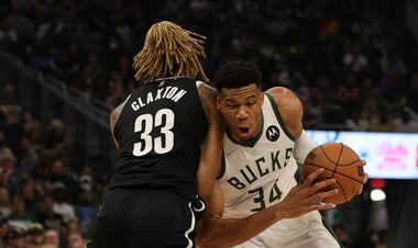 Сезон НБА стартовал. Бакс разгромили Бруклин, Лейкерс уступили Голден Стэйт