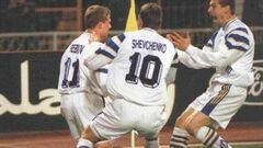 ВИДЕО. УЕФА вспомнил хет-трик Шевченко в ворота Барселоны