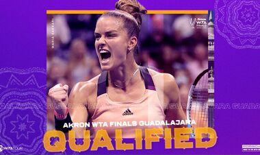Стала известна пятая участница Итогового турнира WTA
