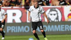 Коваленко вышел в основе за Специю в матче против Сампдории