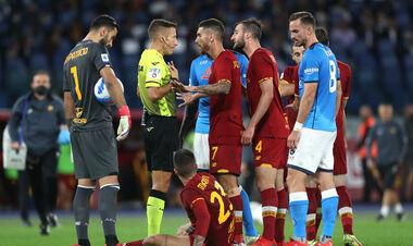 Главных тренеров Ромы и Наполи удалили во время матча Серии А