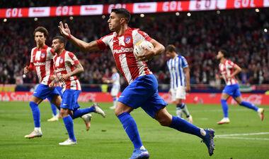 Дубль Суареса спас Атлетико от поражения в игре с Реалом Сосьедад
