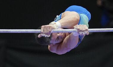 ЧМ по гимнастике. Ковтун занял седьмое место в финале на перекладине