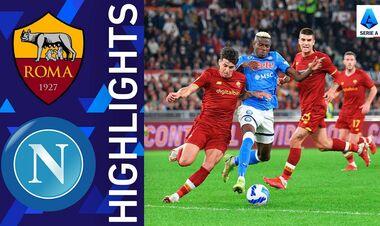 Рома – Наполи – 0:0. Видеообзор матча