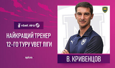 Кривенцов і Криськів визнані найкращими тренером і гравцем туру в УПЛ