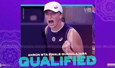 WTA назвала імена ще трьох учасниць Підсумкового турніру