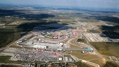 Формула-1. Гран-при США. Текстовая трансляция