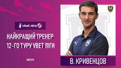 Кривенцов и Крыськив признаны лучшими тренером и игроком тура в УПЛ