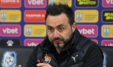 Роберто ДЕ ДЗЕРБИ: «Я — тренер. Я решаю, кто лучше подходит для матча»