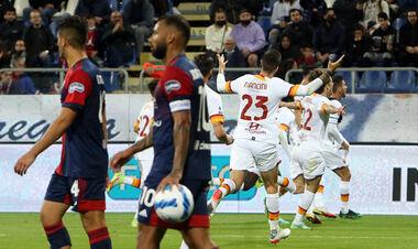 Кальяри – Рома – 1:2. Видео голов и обзор матча