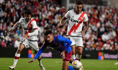 Барселона впервые с 2002 года не смогла обыграть Райо Вальекано