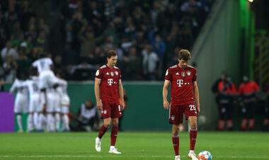 Такое бывает редко. Бавария потерпела крупнейшее поражение за 43 года