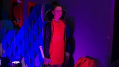 ФОТО. Румынская теннисистка выходит на матчи в Клуж-Напоке в образе Дракулы