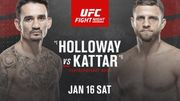 Де дивитися онлайн бій UFC: Макс Холловей – Келвін Каттар